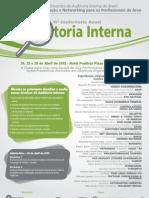 15ª Conferência Anual de Auditoria Interna