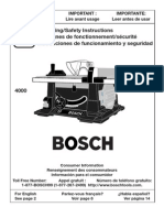 Bosch Table Saw r00160v-1