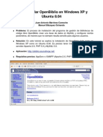 Como Instalar Openbiblio Windowsxp Ububuntu804