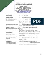 Curriculum Vitae -EAB