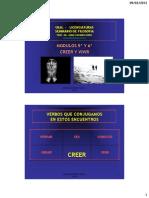 32. CURSO DE FILOSOFIA + DOS VERBOS PARA CONJUGAR