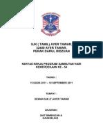 Kertas Kerja Sambutan Bulan Kemerdekaan