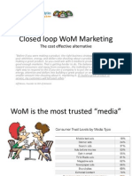 Closed Loop WoM Marketing-Slides