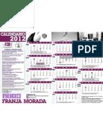 Calendario Académico 2012