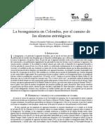 Bioingenieria en Colombia