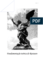 FUNDAMENTOS DO CONSERVAÇÃO E RESTAURO fundam_teorica[1]