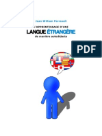 L'apprentissage d'une langue étrangère de façon autodidacte - Jean-William