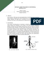 The Chesapeake Laser Tracker in Industrial Metrology
