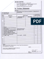 Transmittal of Advance Payment