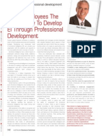 Giving Employees The  Opportunity To Develop  EI Through Professional  Development