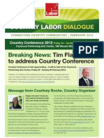 Country Labor Dialogue - February 2012