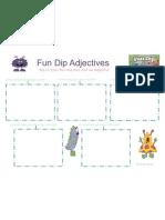 Fun Dip Adjectives