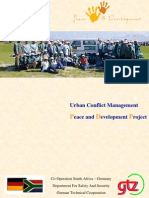 Urban Conflict Management Peace and Development Project (UCM