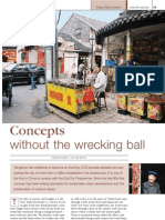 Concepts Without the Wrecking Ball. Yangzhou Has Ambitions t