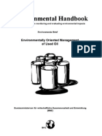 Environmental Handbook. Documentation on Monitoring and Eval