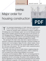 Low Cost Housing. Major Order for Housing Construction