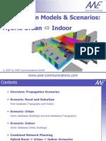 Propagation Models & Scenarios - Hybrid Urban PropagationCNP