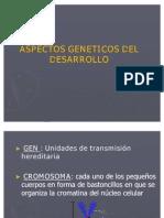 Aspectos Geneticos Del Desarrollo