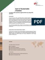 Product Descriptions Sustainable Industrial Estates