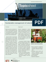 Environment and Management of Natural Resources. Towards (2)