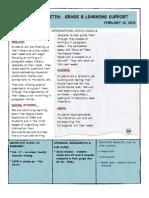 Weekly Bulletin 2.10.12