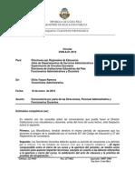 01-12 CIRCULAR DIrecciones Personal Administrativo y Funcionarios Docentes (2)