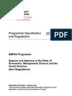 EMFSS Regulations