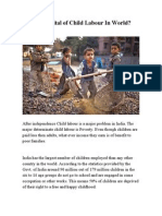 Is India Capital of Child Labour in World ??