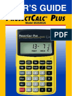 ProjectCalc Plus Manual
