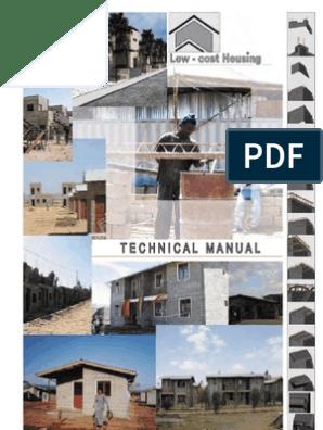 En Low Cost Housing Ethiopia Technical Manual I | Beam