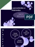 Ácidos peroxiácidos e Hidróxidos