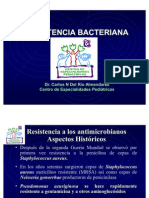 Platica resistencia antimicrobiana2003