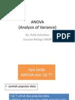 STATISTIK-ANOVA