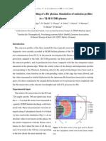 F.L. Tabarés et al- First EIRENE modelling of a He plasma. Simulation of emission profiles in a TJ-II ECRH plasma