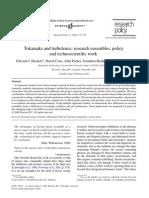 Edward J. Hackett et al- Tokamaks and turbulence