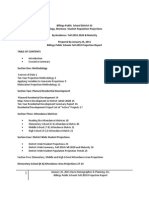 Davis Demographics - January 2011 draft - Billings SD2