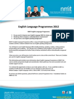 English Language Programmes 20121