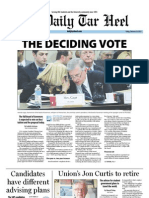 The Daily Tar Heel for February 10, 2012