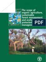The Scope of Organic Agriculture, Sustainable Forest Managem