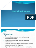 Introduction to ED
