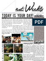 WHM Weekly Newsletter - 15 January 2012