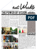 WHM Weekly Newsletter - 22 January 2012