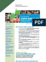 News Bulletin from Aidan Burley MP #33