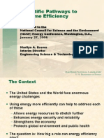 Integrating Discoveries From Other Scientific Fields Into Energy Science and Technology 1