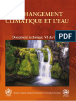 Climate Change and Water - French