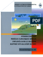 An Introduction to Simple Climate Models Used in the IPCC Second Assessment Report - French