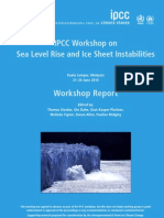 Sea Level Rise and Ice Sheet Instabilities