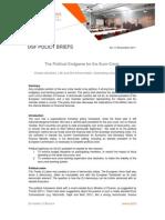DSF Policy Brief No 9 the Political Endgame for the Euro Crisis December 2011