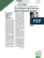 Romeo Gestioni - Rassegna Stampa Contenzioso Comune