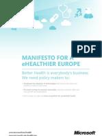 Manifesto for an eHealthier Europe